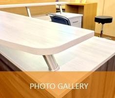 used Office Furniture showroom